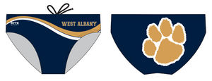 West Albany High School Custom Men's Water Polo Brief