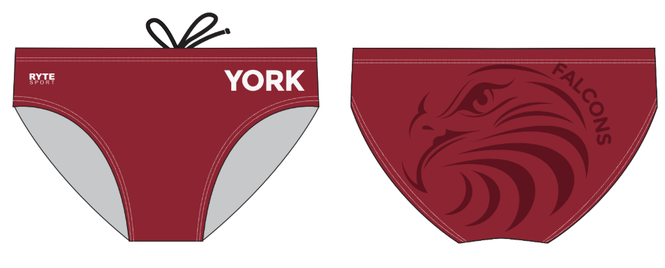 York School Water Polo Custom Men's Water Polo Brief