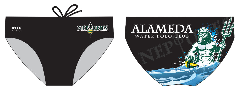 Alameda Water Polo Club Custom Men's Water Polo & Swim Brief