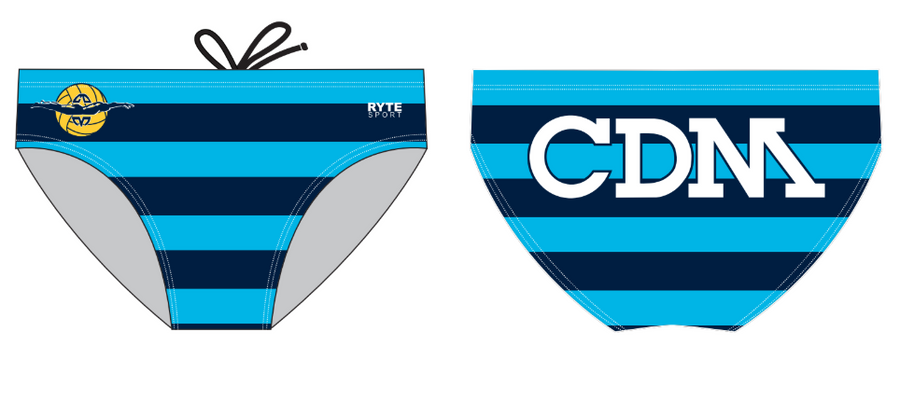 CDM Polo Boy's Water Polo Custom Water Polo Brief