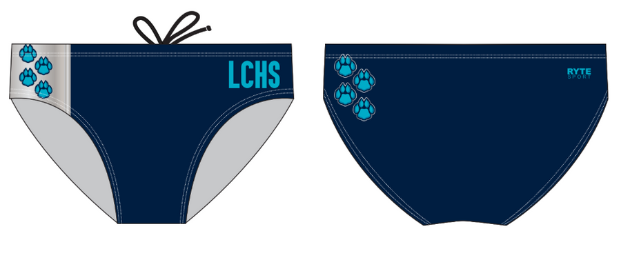 Lake City High School Custom Men's Swim Brief