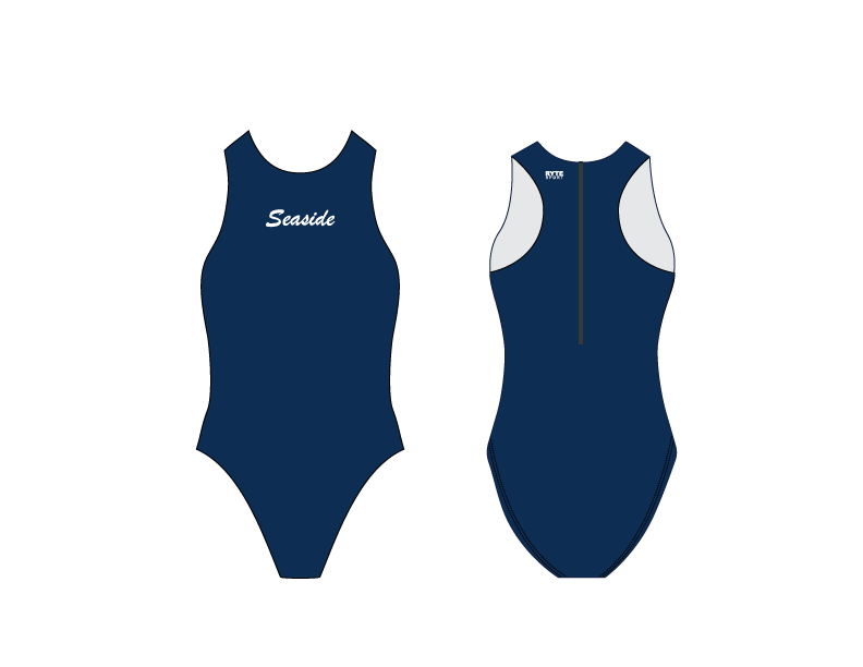 Seaside Water Polo Club Custom Women's Water Polo Suit - Personalized