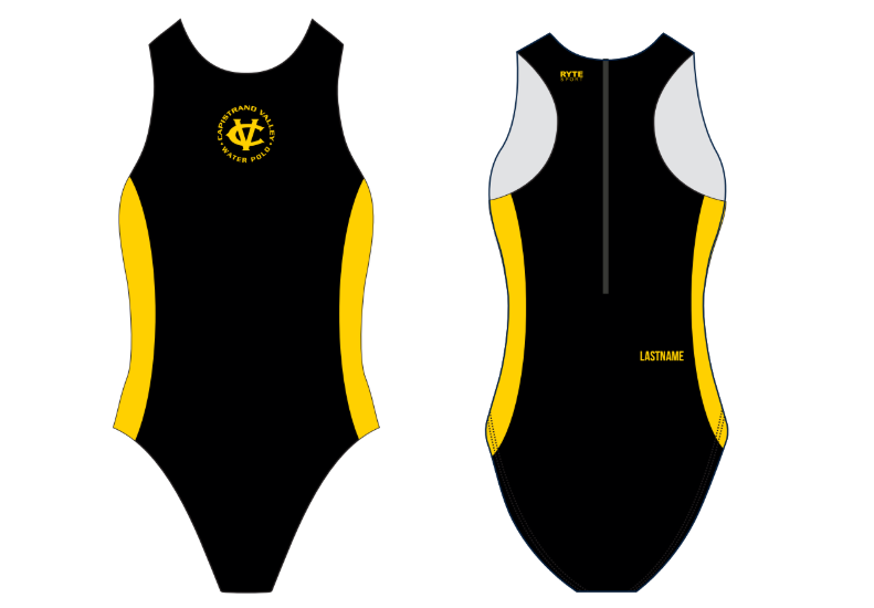 Capo Valley High Schoo Water Polo Custom Women's Water Polo Suit - Personalized