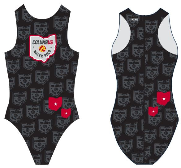 Columbus Water Polo Custom Women's Water Polo Suit