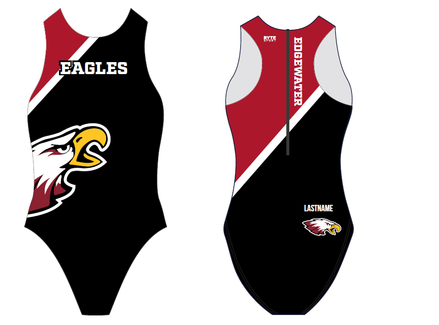 Edgewater High School 2019 Custom Women's Water Polo Suit