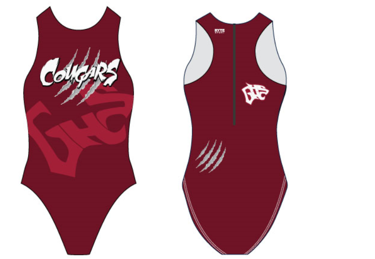Granite Hills (AP) High School Custom Women's Water Polo Suit