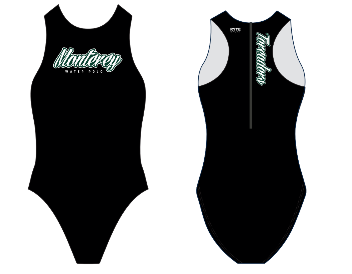 Monterey High School Custom Women's Water Polo Suit