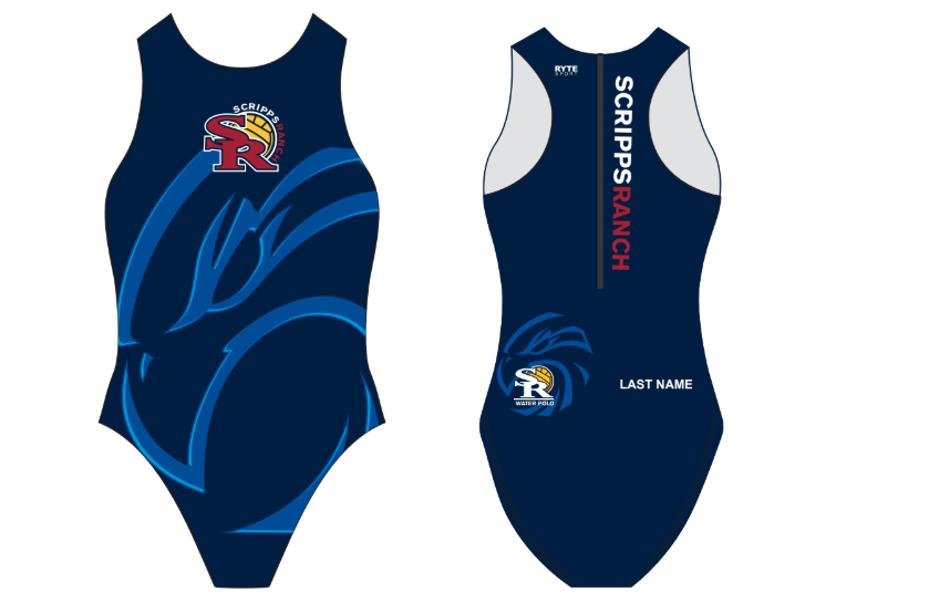 Scripps Ranch High School Girls Water Polo Suit - Personalized