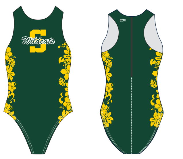 Sonora High School Custom Women's Water Polo Suit