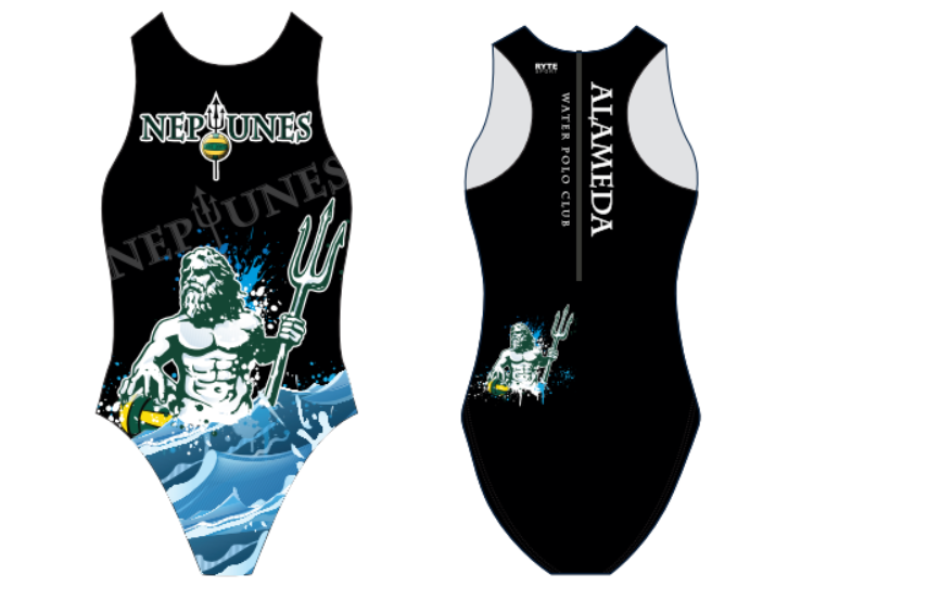 Alameda Water Polo Club Custom Women's Water Polo Suit