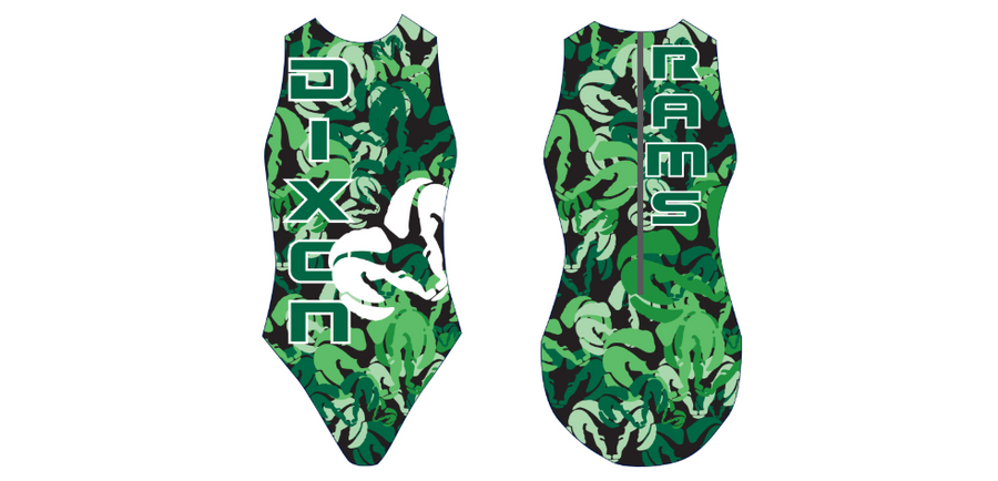 Dixon High School Custom Women's Water Polo Suit
