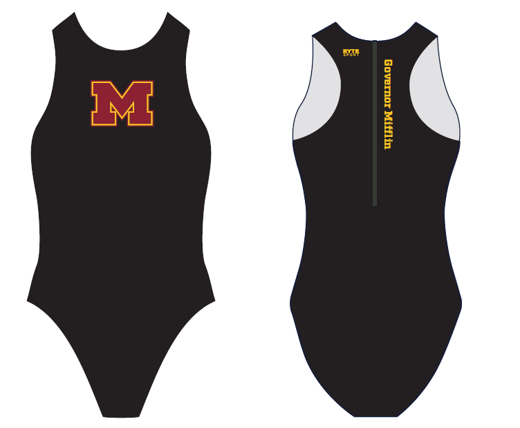 Govenor Mifflin Water Polo Custom Women's Water Polo Suit