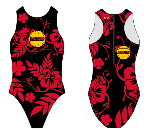 James Logan High School Custom Women's Water Polo Suit