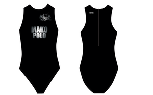 Mako Water Polo Club Custom Women's Water Polo Suit