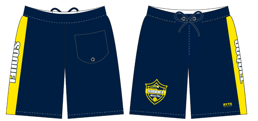 Soquel High School Custom Men's Boardshort