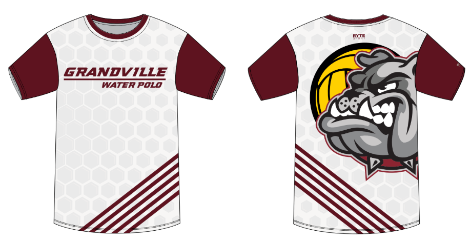 Grandville Bulldogs High School Men's T-Shirt