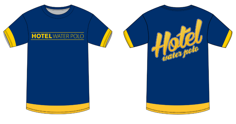 Hotel Water Polo Custom Men's T-Shirt