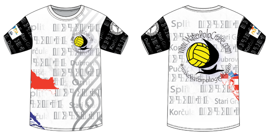 Water Polo Cruise Custom Men's T-Shirt