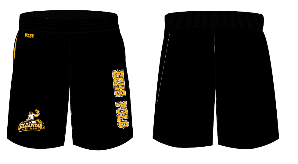 El Capitan High School Water Polo Men's Gym Short