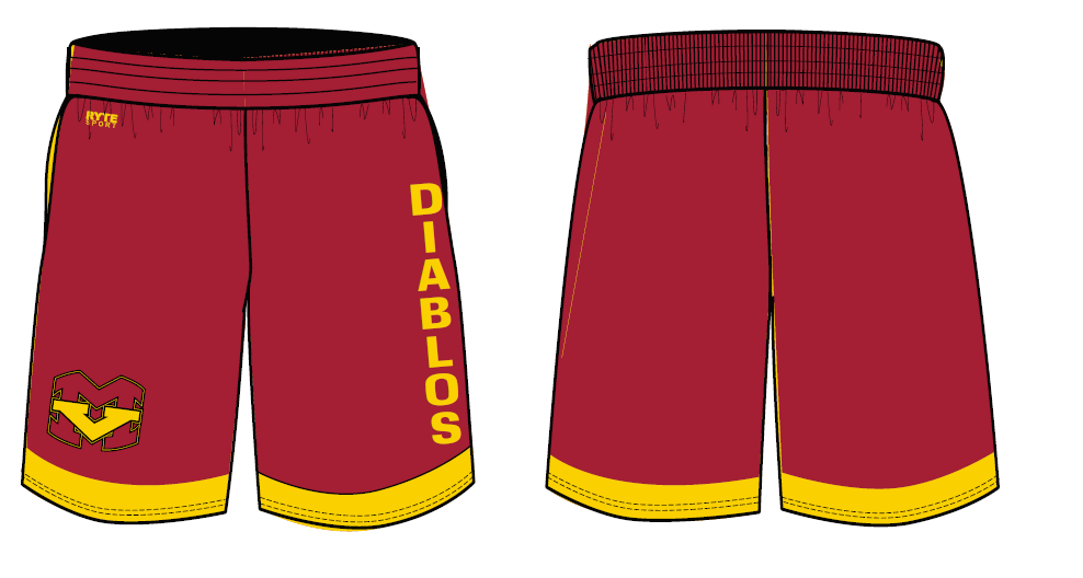 Mission Viejo High School Custom Men's Gym Short