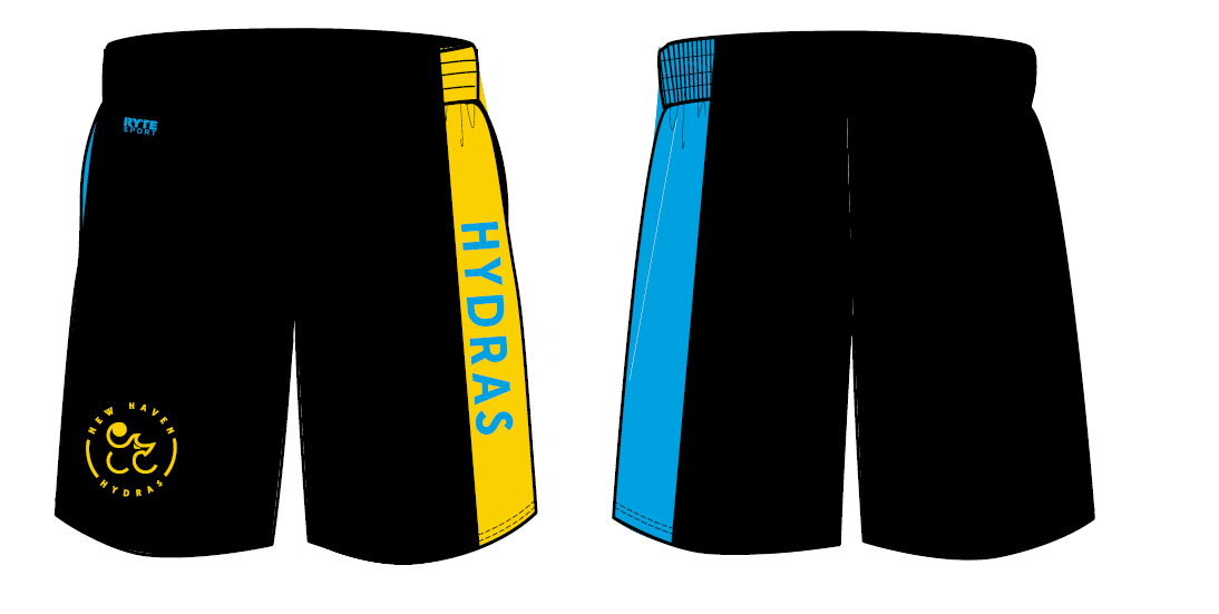 New Haven Water Polo Club Custom Men's Gym Short