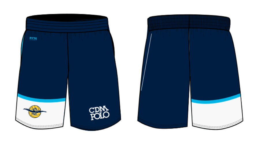 CDM Polo Boy's Youth Gym Short