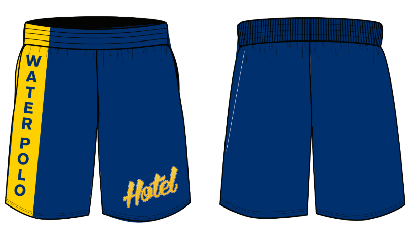 Hotel Water Polo Men's Gym Short
