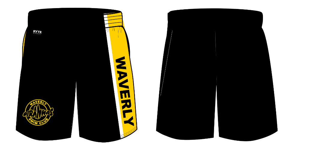 Waverly Piranhas Swim Club Youth Boy's Gym Short