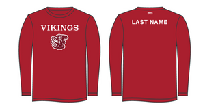 Hueneme High School 2019 Aquatics Adult Unisex Longsleeve Jersey - Personalized