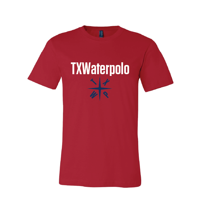 TX Waterpolo Unisex T-Shirt - Black