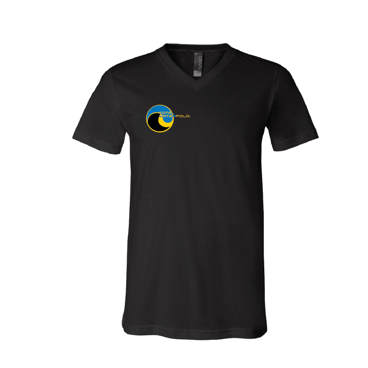 Total Waterpolo Unisex Vee T-Shirt - Black