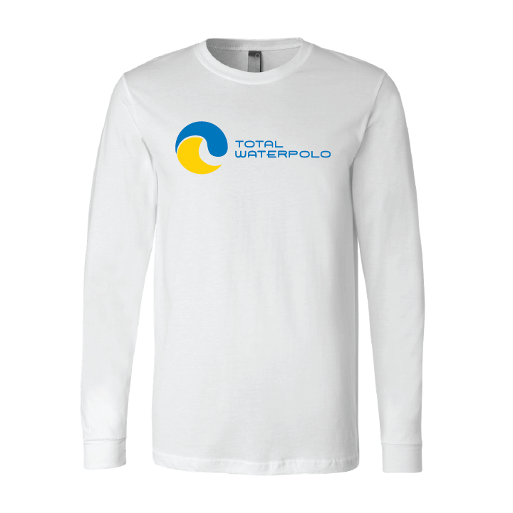 Total Waterpolo Jersey Long Sleeve Tee - White