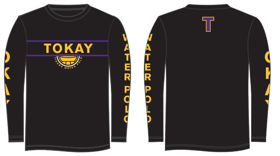 Tokay High School Water Polo Custom Long Sleeve T-Shirt