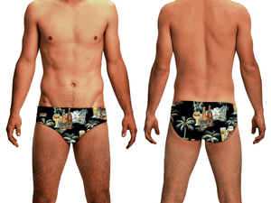 Tahitian Beer Men's Swim & Water Polo Brief