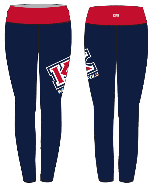 MLK Water Polo Custom Mid-Rise Full Length Leggings