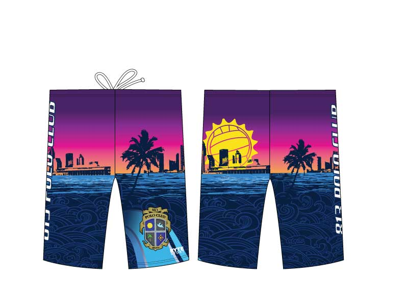 813 Water Polo Club Custom Men's Jammer