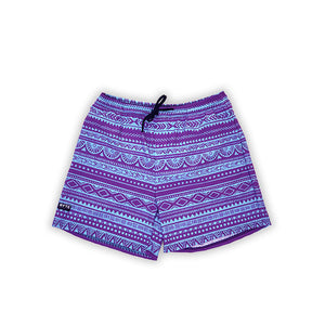 Tribal Purple & Blue Men's Swim Trunk