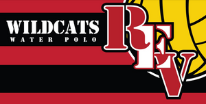 Redlands East Valley High School Water Polo Custom Towel