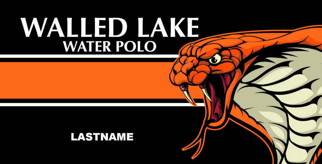 Walled Lake Water Polo Custom Towel