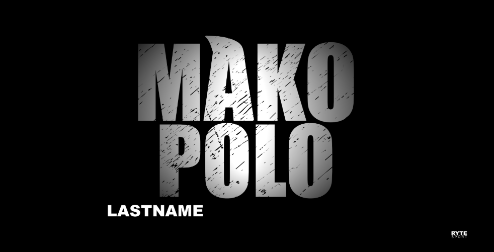Mako Polo Custom Towel