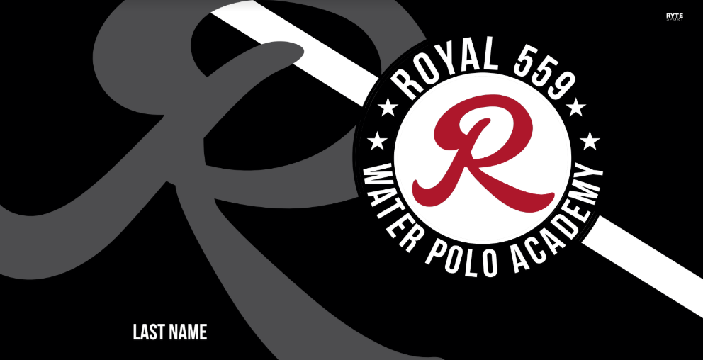 Royal 559 Water Polo Club Custom Towel