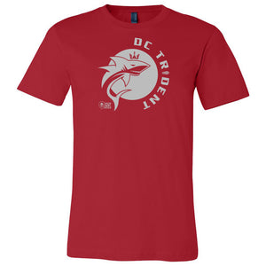 DC Trident - Red Unisex Short Sleeve Jersey Tee