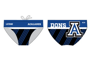 Acalanes High School 2019 Swim & Dive Team Custom Men's Swim Brief