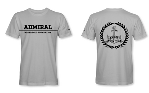 Admiral Water Polo Foundation 2019 Grey Custom T-Shirt - Personalized