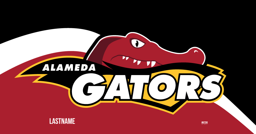 Alameda Gators Swim Team 2019 Custom Towel - Personalized