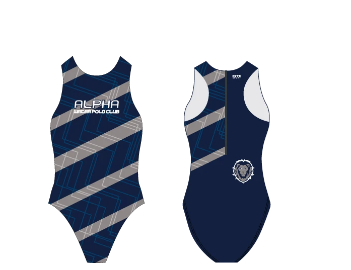 Alpha Water Polo Club Custom Women's Water Polo Suit