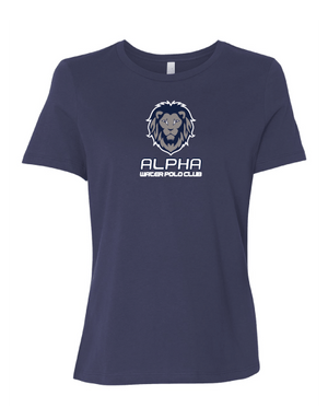 Alpha Water Polo Club Custom Navy Women's Favorite Tee