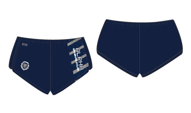 Alpha Water Polo Club Custom Women's Walk Short
