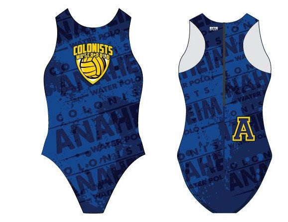 Anaheim High School Water Polo 2020 Custom Women's Water Polo Suit