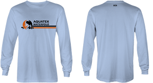Aquatex Water Polo Custom Blue Dri-Fit Long Sleeve T-Shirt